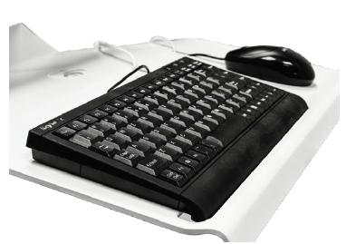 Optionele keyboard plank